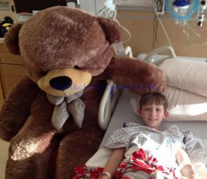 Johnathon Trowbridge is at Nationwide Children's Hospital in Columbus, Ohio.