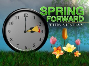 Spring Forward Time Change
