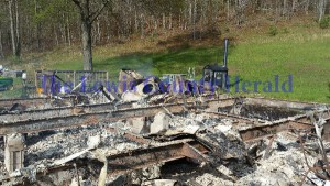 The home of Ginny and Randy Butler on Tar Fork was completely destroyed by fire last week.