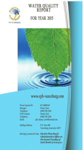 Electric Plant Board Water Quality Report 2015