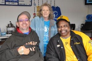David Iery is joined by Judy Iery (David's Mom) and former Pittsburgh Pirate Al Oliver at the David Iery Classic Baseball Game earlier this year. - Dennis Brown Photo