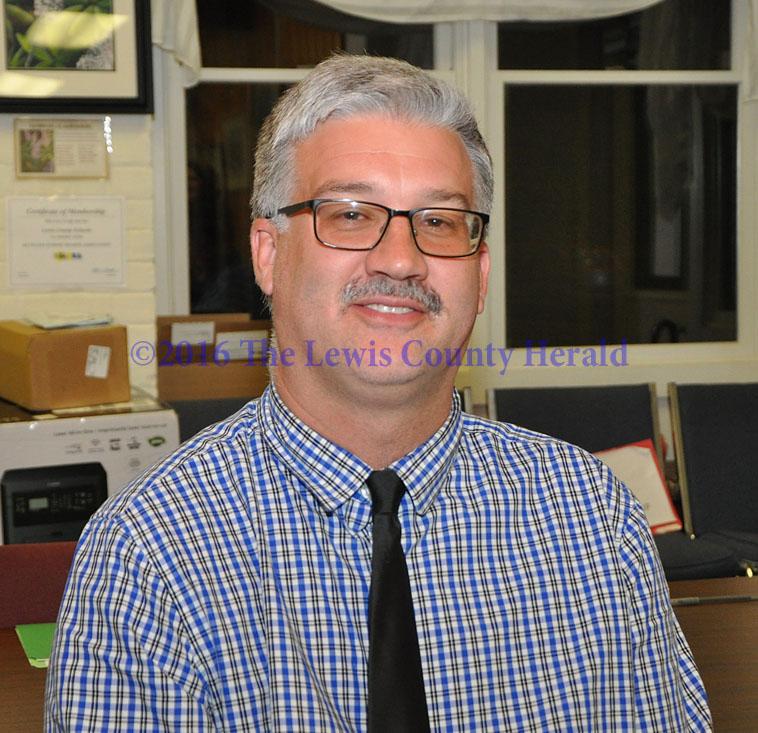 Jamie Weddington has been named Superintendent of Lewis County Schools. - Dennis Brown Photo