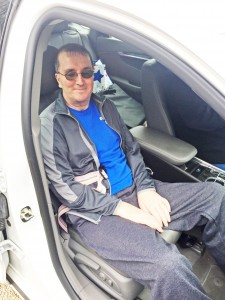 Sam Howard was able to take his first car ride in nearly a year on March 19, eleven months after being diagnosed with GBS.