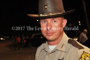 Deputy Mark Sparks recently completed criminal justice training. - Dennis Brown Photo