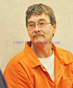 Wince Walters makes an appearance in Lewis District Court. - Dennis Brown Photo