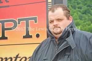 Black Oak Volunteer Fire Chief Curtis Brewer. - Dennis Brown Photo