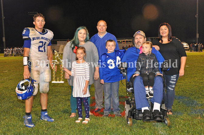 Kody Campbell was named the BlueJackets MVP of the 36th Annual Westerfield Bowl. - Dennis Brown Photo