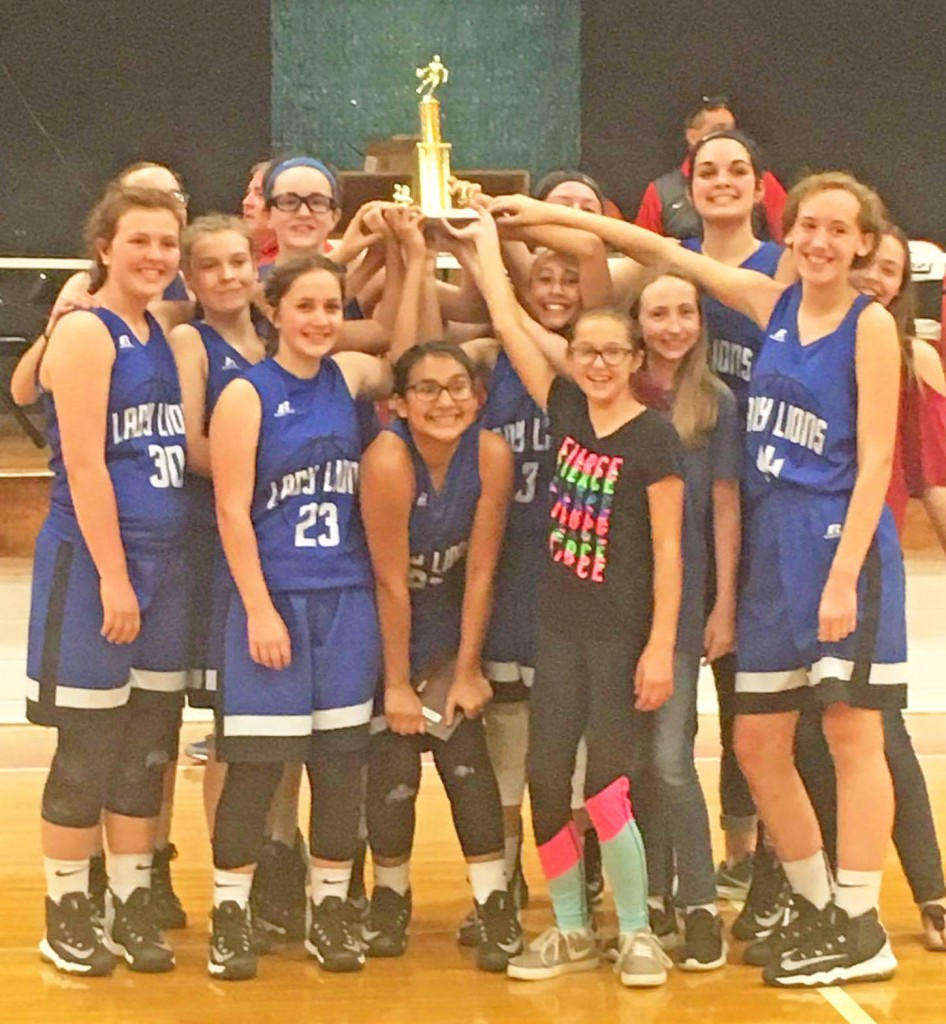 Lewis County Middle School Girls Basketball Team