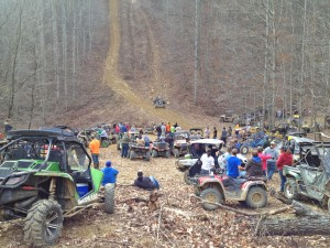 Many off-road enthusiasts have gathered for the Turkey Run in the Briery Creek Road area over the past several years.