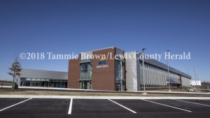 MCTC's new Rowan Campus opened Friday near Morehead. The facility consists of 87,500 square feet of floor area and will accommodate 1,200 students. - Tammie Brown Photo