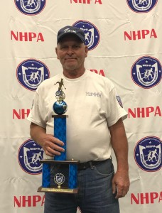 Tommy Truesdell is a division winner in the World Horseshoe Pitching Championship.